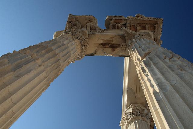 Acropolis of Pergamum at Bergama, Turkey : Info, Photos ...
