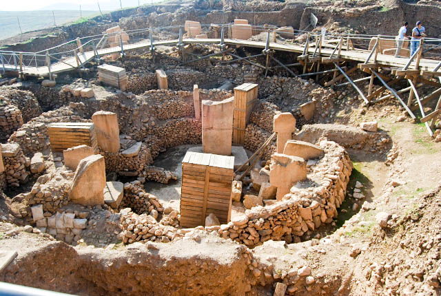 Ancient temple of Gobeklitepe