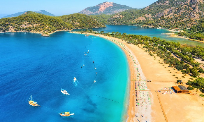 beautiful beaches in Turkey