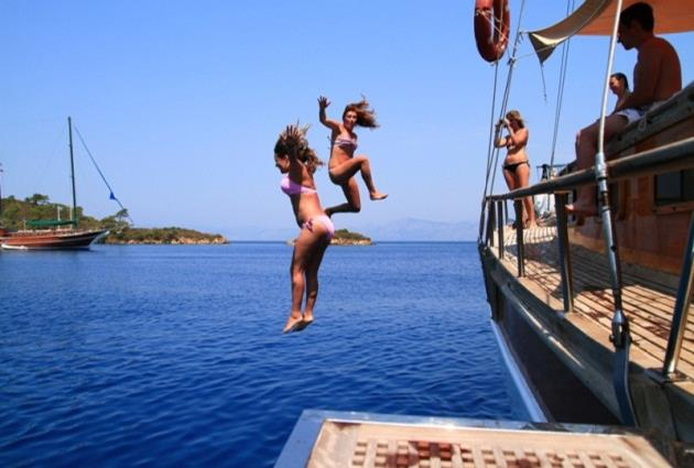 Blue Cruise Turkey Review Of Gulet Holidays And Tours - Cruise tour