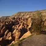 Cappadocia lunar landscape