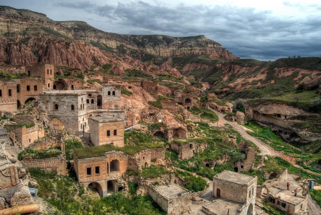 Cavusin Cappadocia Turkey