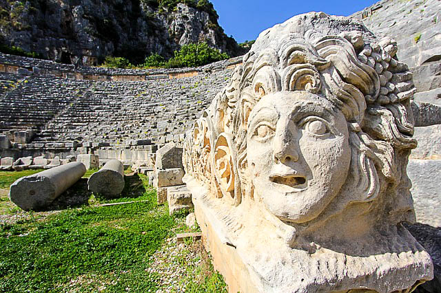 Famous ancient sites of Turkey