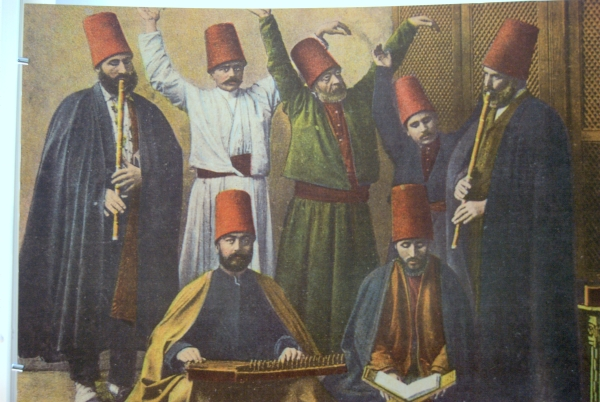 Whirling dervishes in History