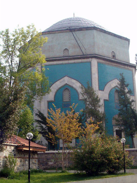 Green mausoleum bursa turkey