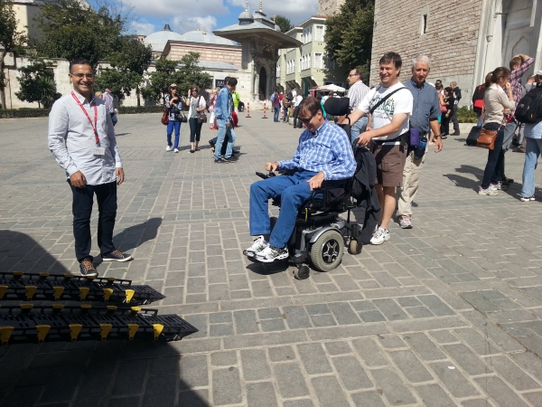 Handicap travel in Turkey