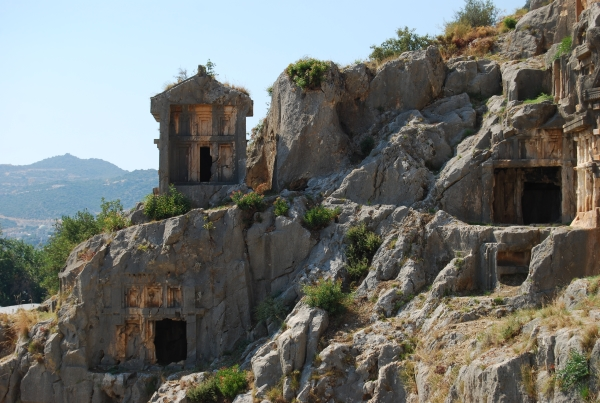 Lycian tombs of Myra