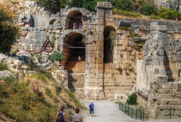 Myra ruins