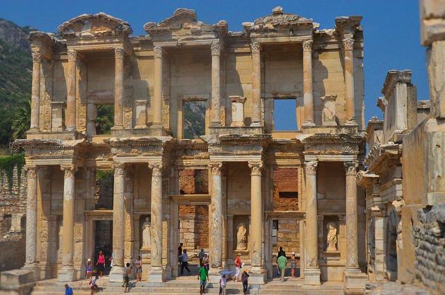 Seven churches of revelation in Turkey