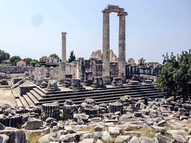 Temple Apollo Ruins