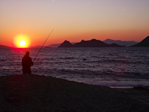 Turgutreis sunset