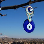 The Blue Evil Eye in Turkey : Good Luck Charms and Souvenirs