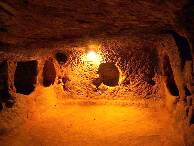 Underground cities of Cappadocia Turkey