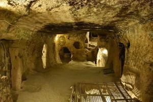 derinkuyu underground city in cappadocia