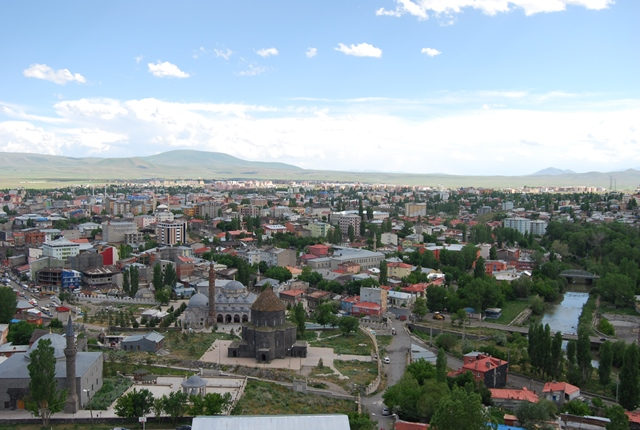 View from Kars castle