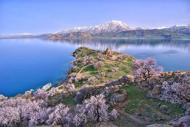 Lake Van in Eastern Turkey
