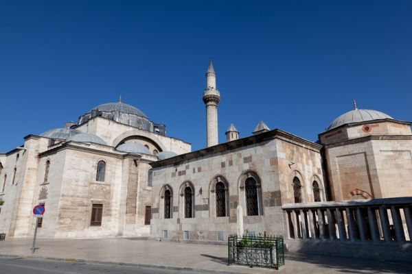 mevlana museum and mosque in Konya